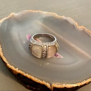 Judith Ripka 925 Sterling Silver Ring Size 7